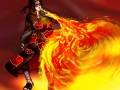 Полыхающий огонь