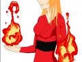 Огненные шары в руках